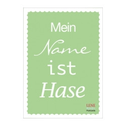 MEIN NAME IST...
