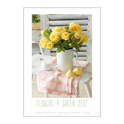 POSTER 'YELLOW ROSES'