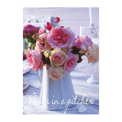POSTER 'ROSES IN A PITCHER'
